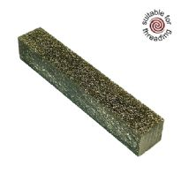 Kirinite Platinum & Gold Stardust Glitter pen blank